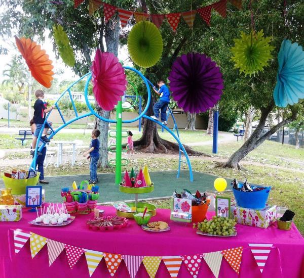 Cómo hacer una fiesta de niños en el jardín